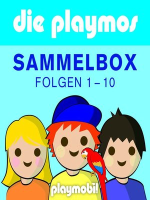 cover image of Die Playmos, Boxenset, Folgen 1-10