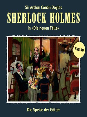cover image of Sherlock Holmes, Die neuen Fälle, Fall 40