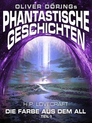 cover image of Phantastische Geschichten, Teil 1
