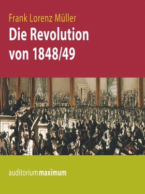 cover image of Die Revolution von 1848/49