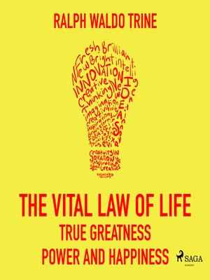 cover image of The Vital Law of Life--True Greatness Power and Happiness