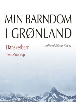 cover image of Danskerbarn