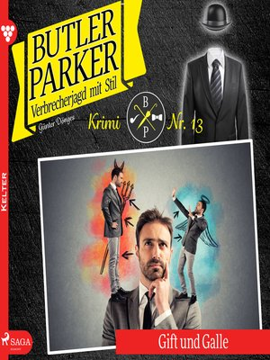 cover image of Butler Parker, 13