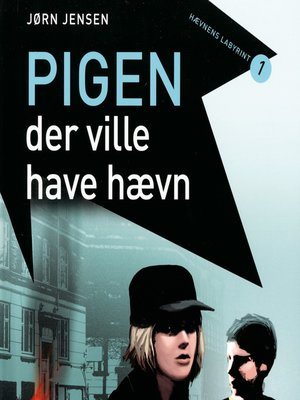 cover image of Pigen, der ville have hævn