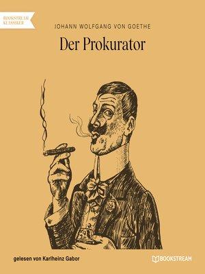 cover image of Der Prokurator