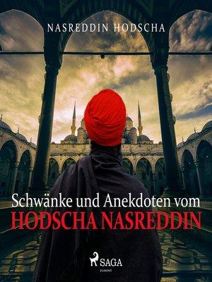 cover image of Schwänke und Anekdoten vom Hodscha Nasreddin
