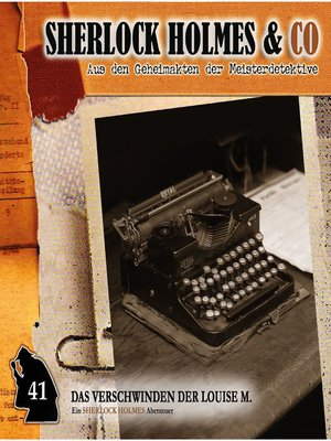 cover image of Sherlock Holmes & Co, Folge 41