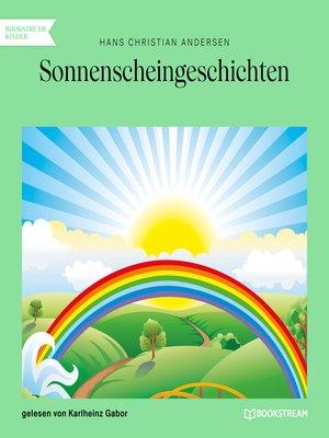 cover image of Sonnenscheingeschichten