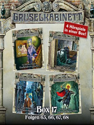 cover image of Gruselkabinett, Box 17