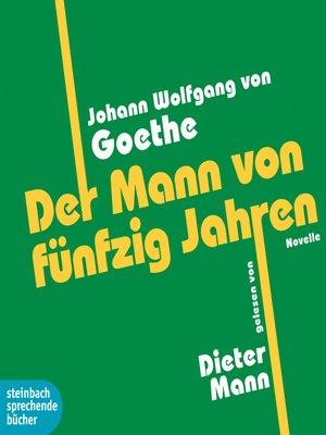 cover image of Der Mann von fünfzig Jahren