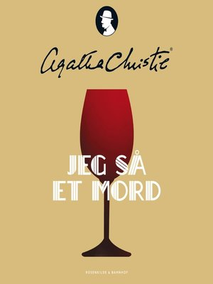 cover image of Jeg så et mord