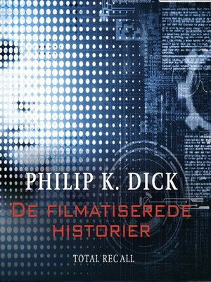 cover image of De filmatiserede historier--Total Recall