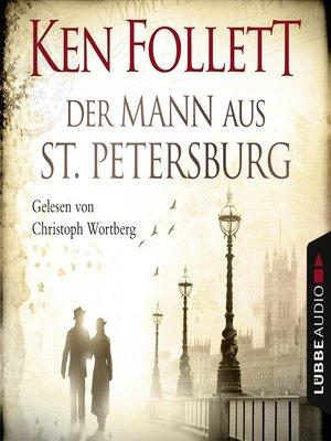 cover image of Der Mann aus St. Petersburg
