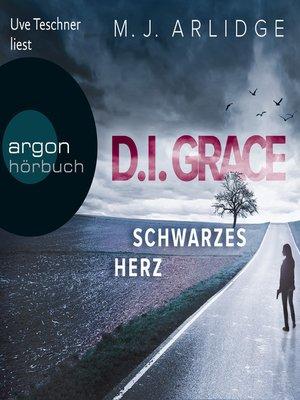 cover image of Schwarzes Herz--D.I. Grace