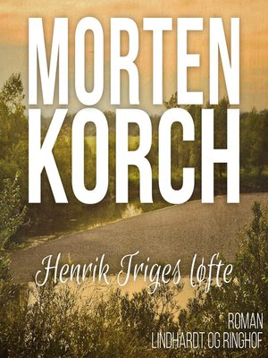 cover image of Henrik Triges løfte
