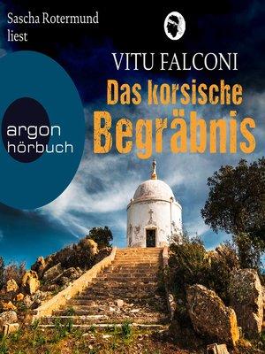 cover image of Das korsische Begräbnis