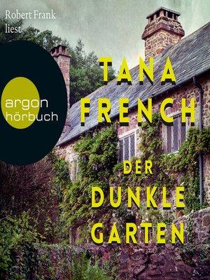 cover image of Der dunkle Garten