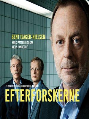 cover image of Efterforskerne