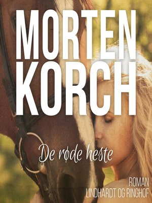 cover image of De røde heste