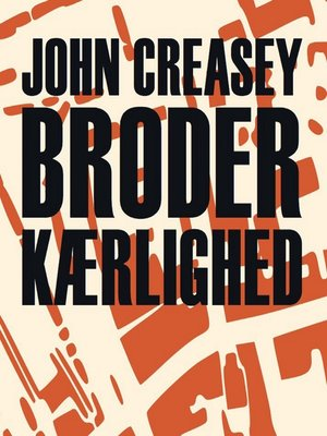 cover image of Broderkærlighed