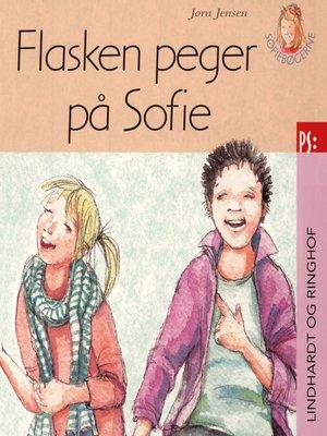 cover image of Flasken peger på Sofie