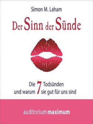 cover image of Der Sinn der Sünde