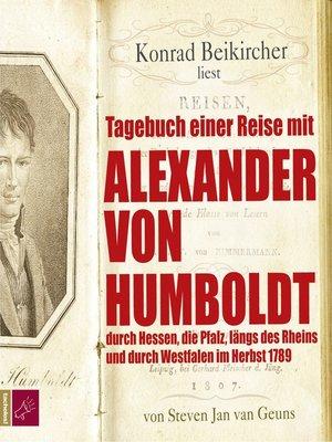 cover image of Tagebuch einer Reise mit Alexander von Humboldt