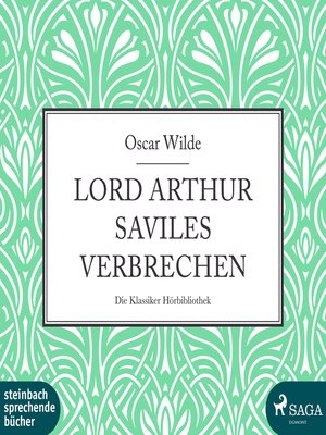 cover image of Lord Arthur Saviles Verbrechen