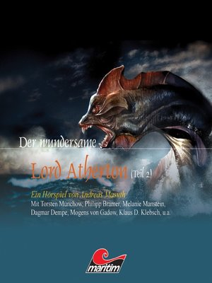 cover image of Der wundersame Lord Atherton, Der wundersame Lord Atherton, Teil 2