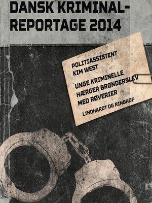 cover image of Unge kriminelle hærger Brønderslev med røverier--Dansk Kriminalreportage