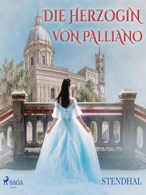 cover image of Die Herzogin von Palliano