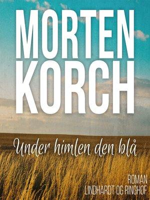 cover image of Under himlen den blå
