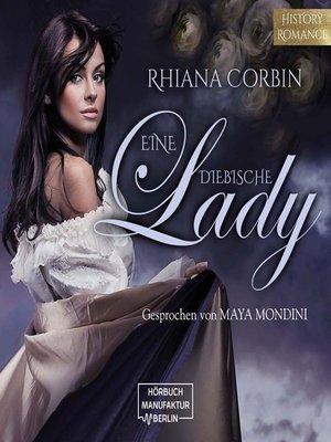 cover image of Eine diebische Lady