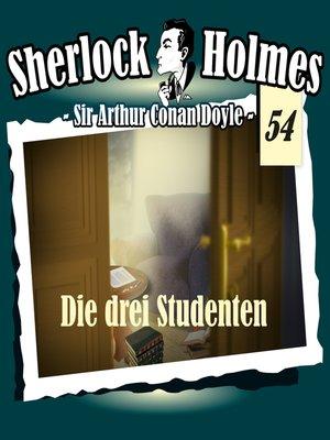 cover image of Sherlock Holmes, Die Originale, Fall 54