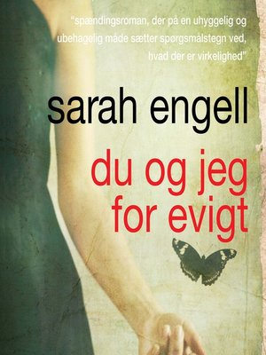 cover image of Du og jeg for evigt