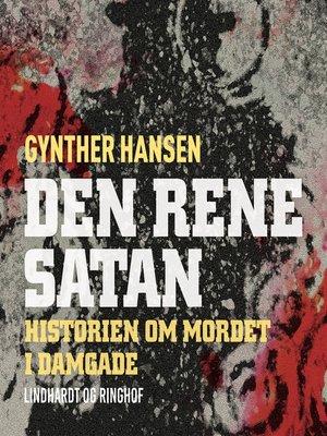 cover image of Den rene satan