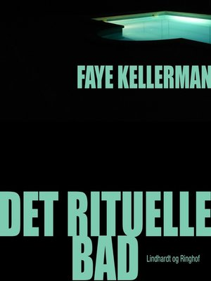 cover image of Det rituelle bad--Peter Decker og Rina Lazarus 1