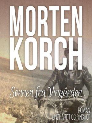 cover image of Sønnen fra Vingården