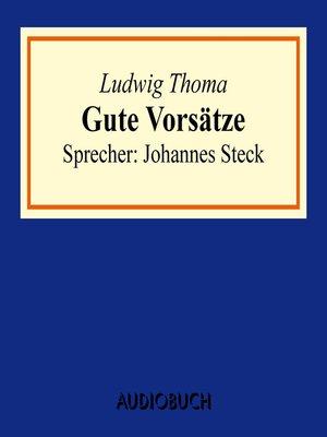cover image of Gute Vorsätze