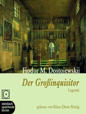 cover image of Der Großinquisitor