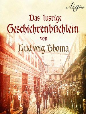 cover image of Das lustige Geschichtenbüchlein (Hörspiel)