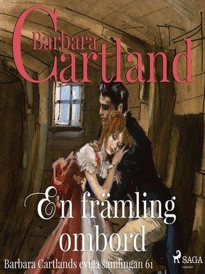 cover image of En främling ombord--Den eviga samlingen 61