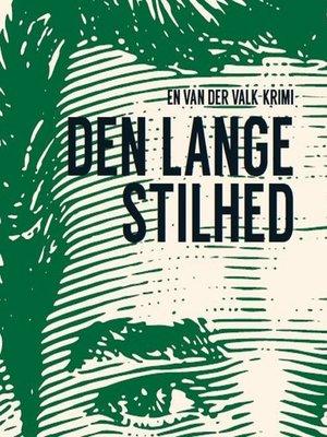 cover image of Den lange stilhed