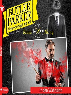 cover image of Butler Parker, 14