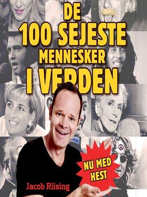 cover image of De 100 sejeste mennesker i verden