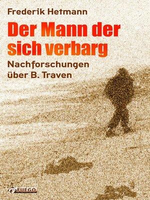 cover image of Der Mann der sich verbarg
