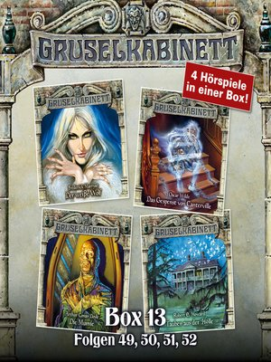 cover image of Gruselkabinett, Box 13