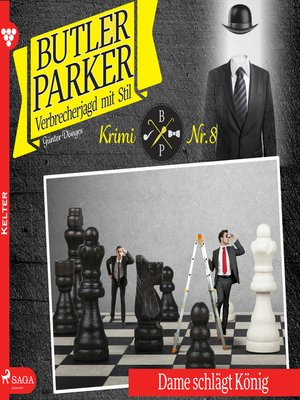 cover image of Butler Parker, 8