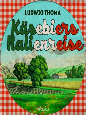 cover image of Käsebiers Italienreise