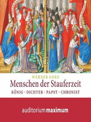 cover image of Menschen der Stauferzeit